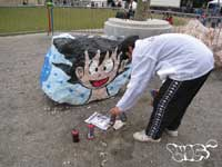 photo 8 atelier initiation graffitti la reynerie