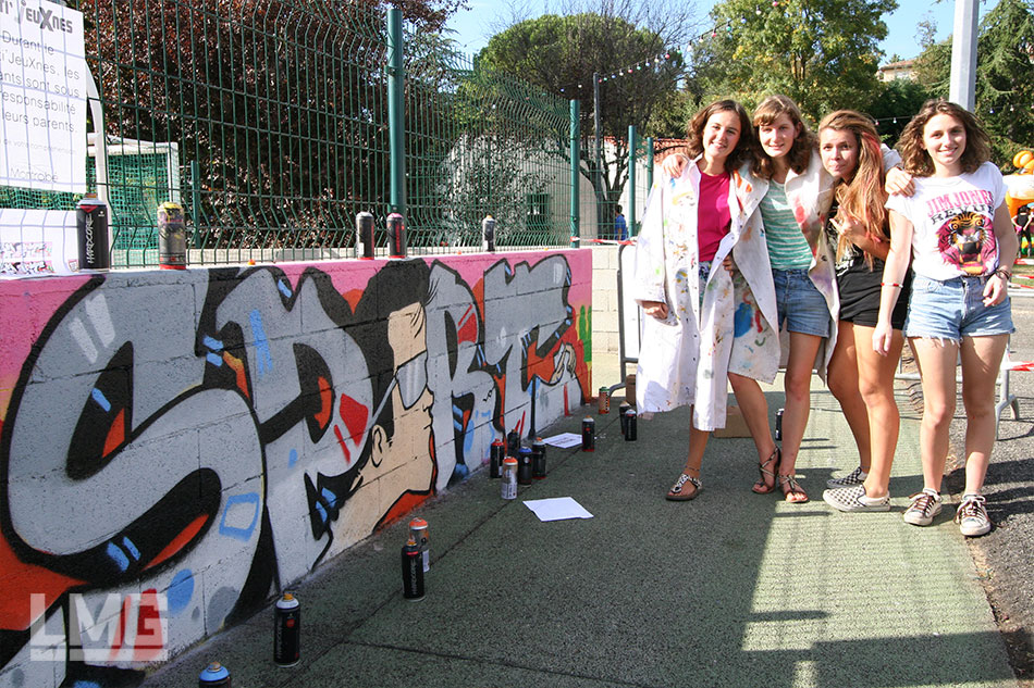 photo décoration graffiti
