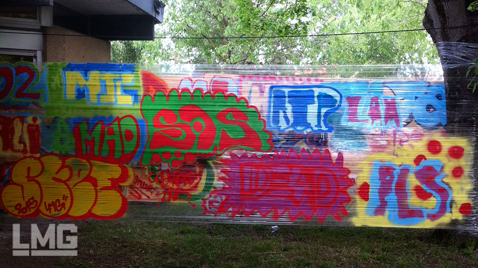 photo 02 atelier graffiti et tag cellograff toulouse Le Mouvement Graphique 2015