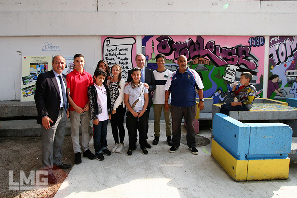 photo graffiti street-art LMG Le Mouvement Graphique 2015  Le Mirail Moudenc toulouse
