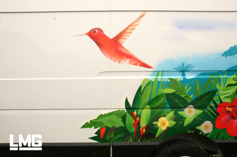 decoration graffiti artiste vehicule toulouse