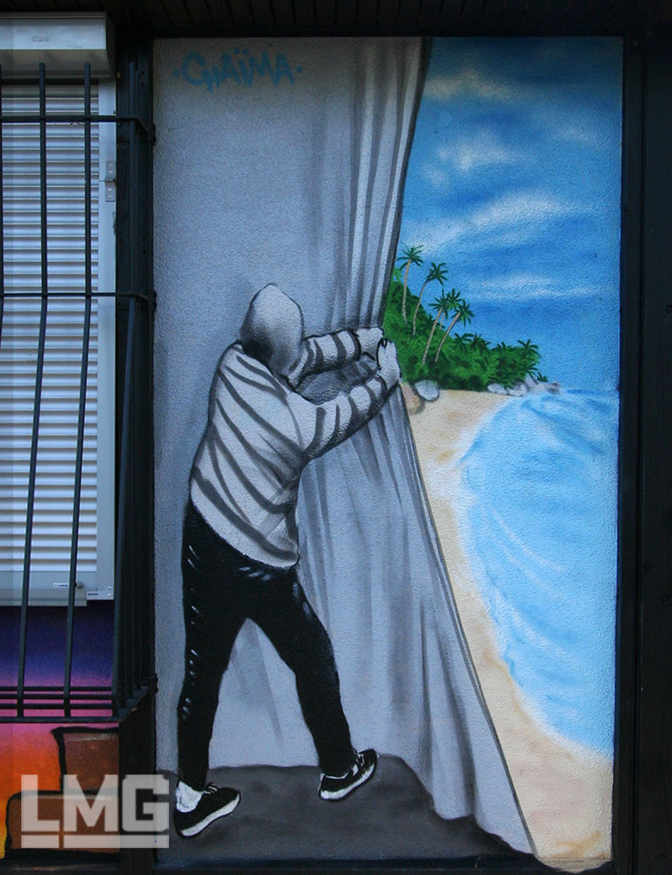 fresque participative atelier décoration graffiti artiste toulouse