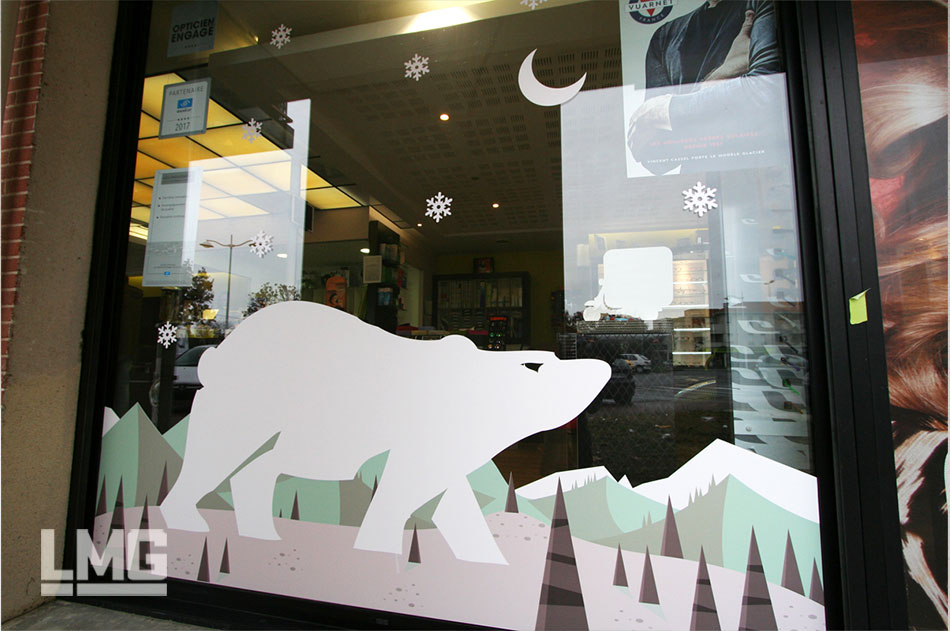 décoration vitrophanie toulouse