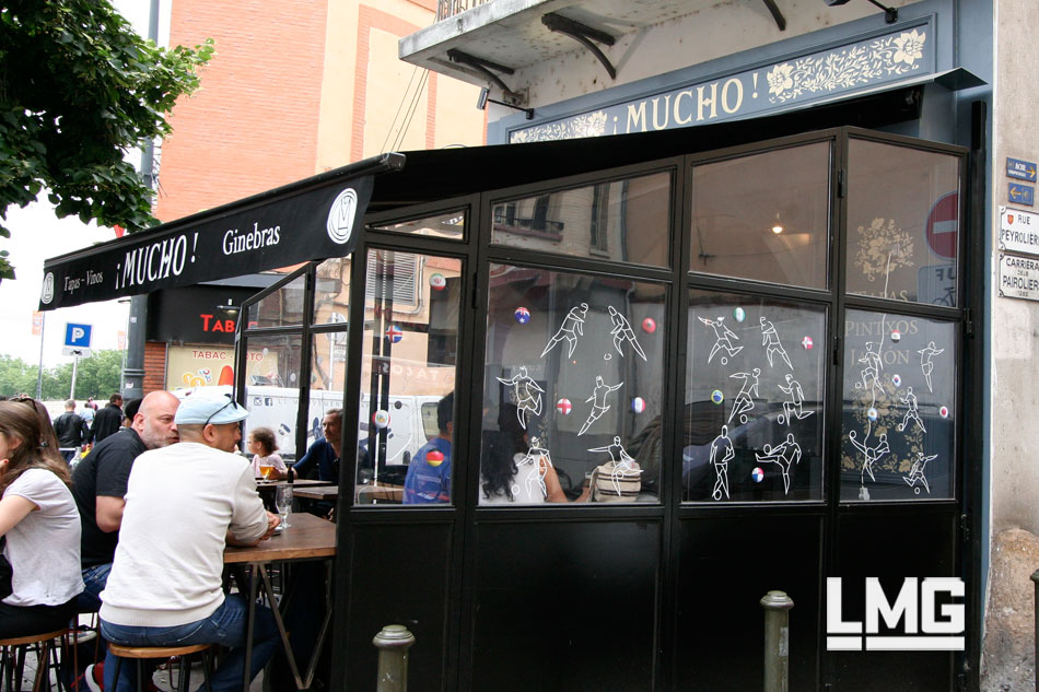 vitrine street art décoration artiste graffiti toulouse