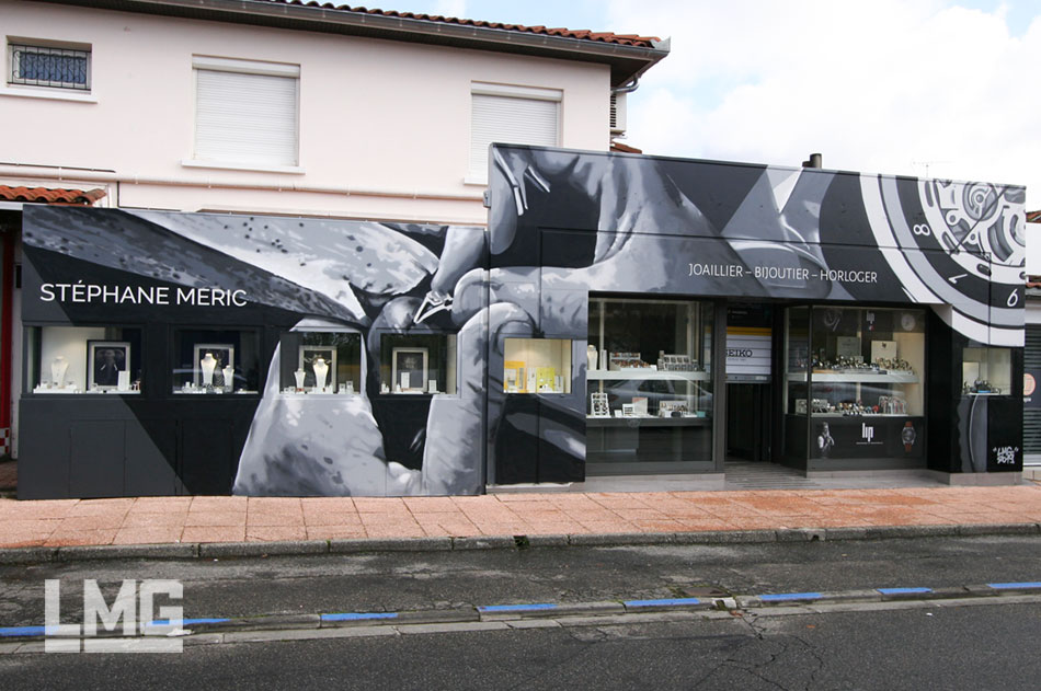 decoration graffiti artiste art urbain bijouterie
