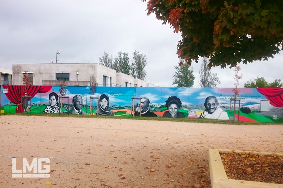 fresque art urbain Toulouse 2019 artiste graffiti